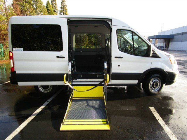 2015 Ford Transit Wagon Commercial Vans Ford Transit  Wheelchair Van For Sale
