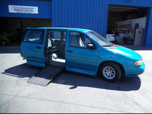1996 Ford Windstar Non Branded Please See Description Wheelchair Van For Sale