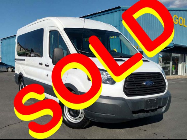 2015 Ford Transit Wagon Nor-Cal Vans NCV Personal Mobility Transit Wheelchair Van For Sale