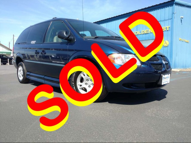 2002 Dodge Grand Caravan BraunAbility Chrysler Entervan II Wheelchair Van For Sale