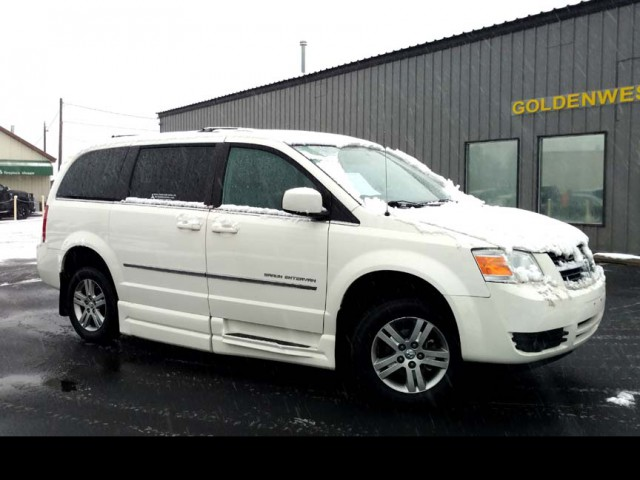 2010 Dodge Grand Caravan BraunAbility Dodge Entervan XT Wheelchair Van For Sale