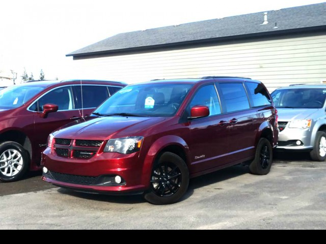 2019 Dodge Grand Caravan BraunAbility Dodge Manual Rear Entry Wheelchair Van For Sale